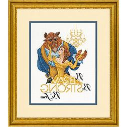 Cross Stitch Kit ~ Disney Princess Belle Beauty and the Beas
