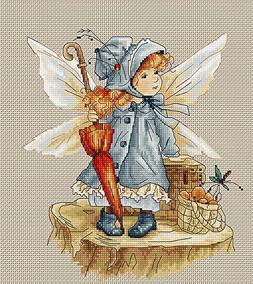 Cross Stitch Kit The Fairy