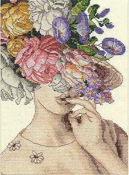 Cross Stitch Kit ~ Dimensions Gold Collection Petites Garden