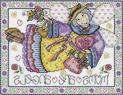 Cross Stitch Kit ~ Design Works Moms are Angels #DW3232
