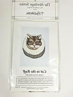 """Cross Stitch Kit  Posy Heritage History collection """"CAT in t"""