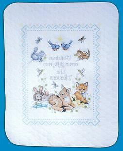 Cross Stitch Kit ~ Design Works / Tobin Gift From Heaven Bab