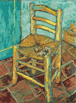Cross Stitch Kit ~ DMC Van Gogh's Chair #BL106671
