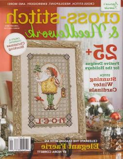 Cross-stitch & Needlework Magazine January 2013