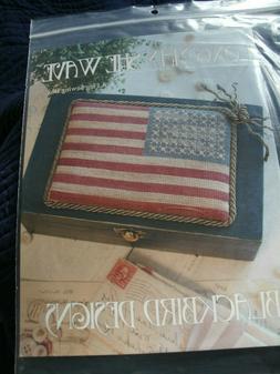 """Blackbird Designs cross stitch pattern - sewing box-""""Long Ma"""
