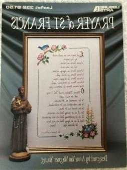 "Cross Stitch ""Prayer Of St. Francis"" Chart by Leisure Ar"