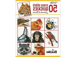 LEISURE ARTS Cross Stitch Quickies Animals Bk Stch Animls