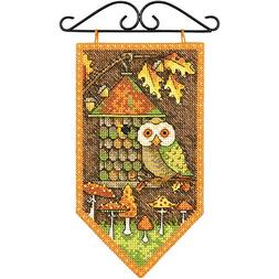 Dimensions 14 Count Debbie Mumm Fall Banner Counted Cross St