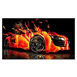 Full Diamond Rhinestone Painting ,Awakingdemi DIY Cars 5D Di