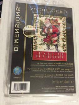 Dimensions Gold Collection Counted Cross Stitch Kit Believe