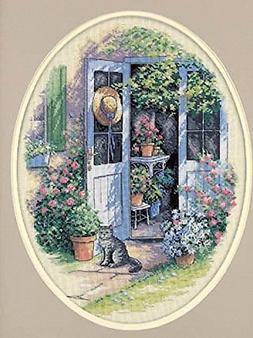 Dimensions Needlecrafts Counted Cross Stitch, Garden Door