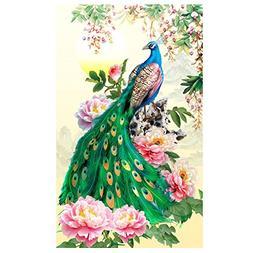 diy diamond embroidery painting peacock