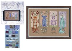 Mirabilia Dressmakers' Daughter Counted Cross Stitch Pattern