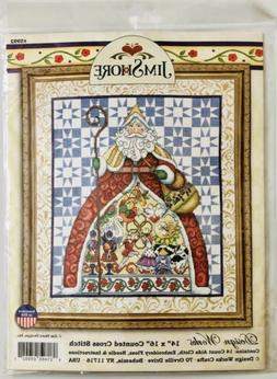 Tobin DW5992 12 Days-Jim Shore Counted Cross Stitch Kit-14 i
