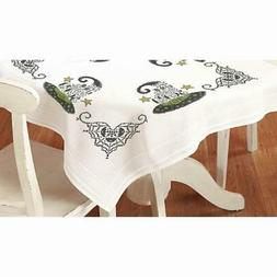 Herrschners® Eat, Drink, & Be Scary Table Topper Stamped Cr