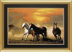 Embroidery Counted cross stitch kit Charivna mit #501 Mustan