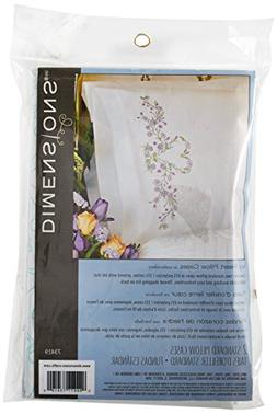 Dimensions Needlecrafts Embroidery, Ivy Heart Pillow Cases