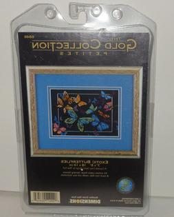 Exotic Butterflies Cross Stitch Kit