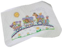 Baby Express Quilt Stamped Cross Stitch Kit