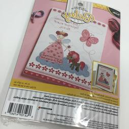 Fairytale Princess Birth Record Counted Cross Stitch Kit-10X