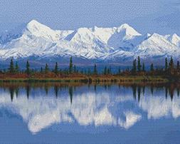 Nature's Finest No. 59 Cross Stitch Pattern Beautiful Snow C