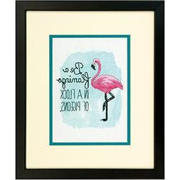 Dimensions Needlecrafts Flamingo, Counted Cross Stitch Kit