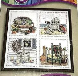 Four Seasons Chairs Cross Stitch Kit