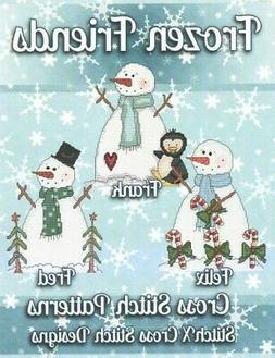 Frozen Friends Cross Stitch Patterns, Paperback by Stitchx ,