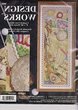 Design Works Game of Golf Counted Cross Stitch Kit 9688