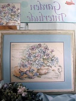 Garden Interlude Cross Stitch Pattern by Lanarte - #3449