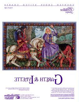 Gareth & Lynette Vermillion Stitchery Cross Stitch Pattern 2