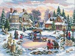 Gold Collection A Treasured Time Counted Cross Stitch Kit-16