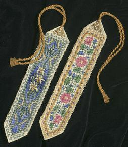 gold collection bookmarks counted cross