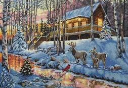 """Dimensions Gold Collection Counted Cross Stitch Kit 15""""X10"""""""