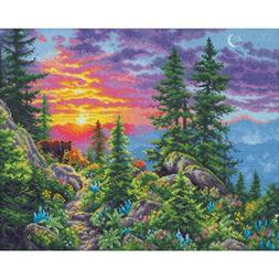 Dimensions Gold Collection Counted Cross Stitch Kit Sunset M