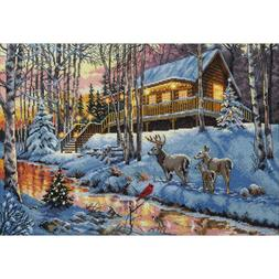Dimensions Gold Collection Counted Cross Stitch Kit Winter C