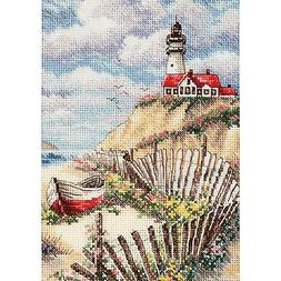 Gold Collection Petite Cliffside Beacon Counted Cross Stitch
