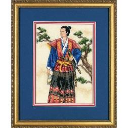 Gold Collection Petite The Samurai Counted Cross Stitch Kit-