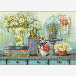 gold collection petites counted cross stitch kit