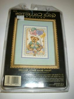 Dimensions Gold Collection Petites Cross Stitch Kit Teddy Be