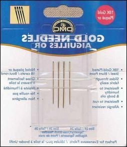DMC Gold Plated Tapestry Needles Size 22