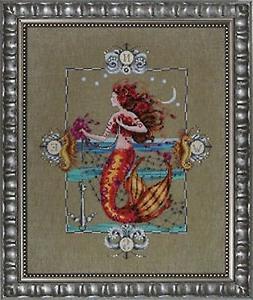 Mirabilia Gypsy Mermaid Md126 Counted Cross Stitch Pattern