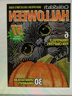 Just Cross Stitch Halloween 2020 Magazine - free embellishme