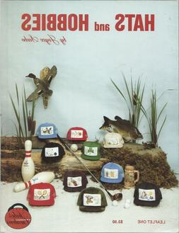 HATS & HOBBIES For Trucker Caps ~ 10 Designs Joyce Seebo Cro