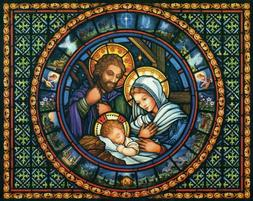 Holy Family  - Chart Counted Cross Stitch Patterns Needlewor