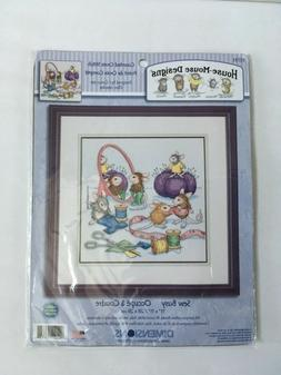 Dimensions House Mouse Counted Cross Stitch Kit - Sew Busy