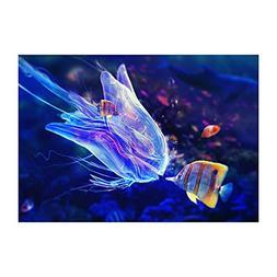 Awakingdemi Hyaline Jellyfish 5D Full Drill Round Diamond Pa