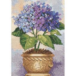Hydrangea in Bloom Cross Stitch Kit