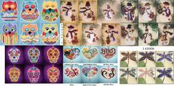 Mill Hill Charmed Ornaments Cross Stitch Kits CHOOSE! I Love