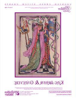 King Arthur & Guinevere Vermillion Stitchery Cross Stitch Pa